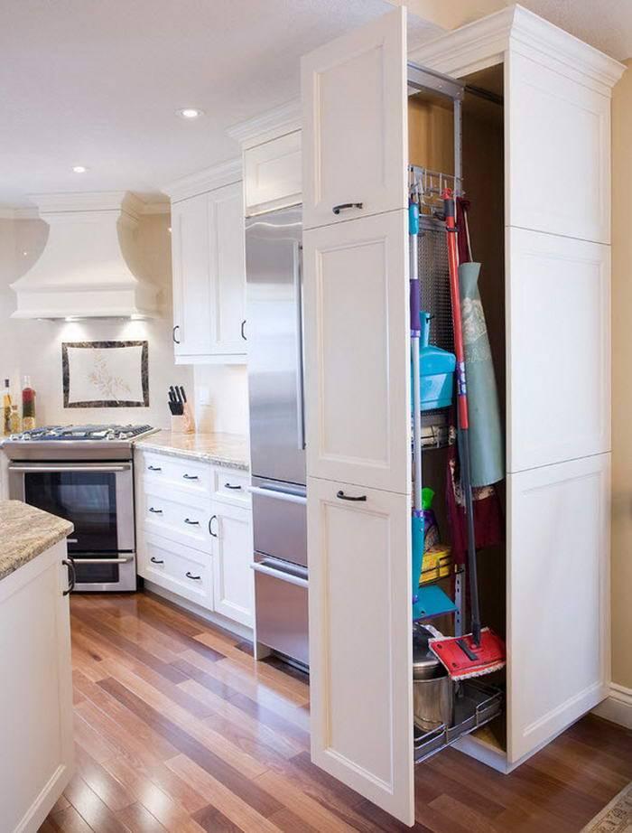 Размещение холодильника в коридоре