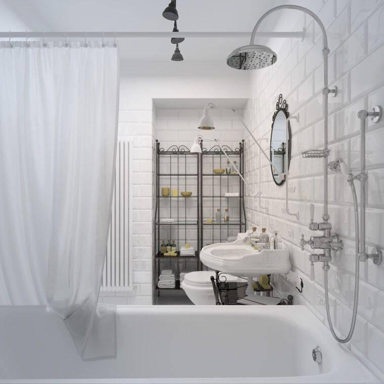 Ванная в стиле лофт — фото обзор простых идей с описанием всех особенностей создания стиля