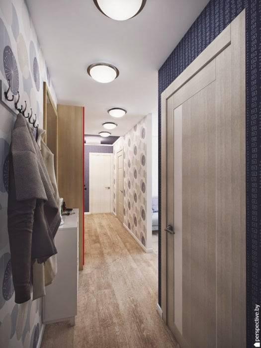 Дизайн трехкомнатной квартиры 9 этажном панельного дома