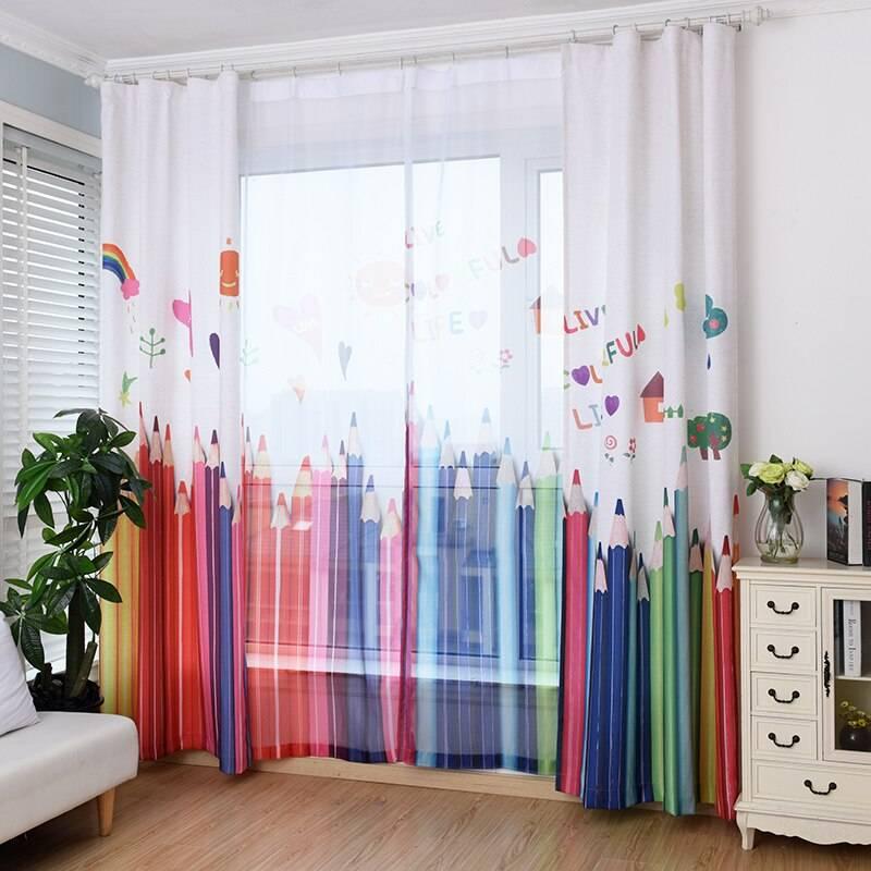 Шторы в детскую комнату: 95 фото вариантов лучшего на сегодня выбора
