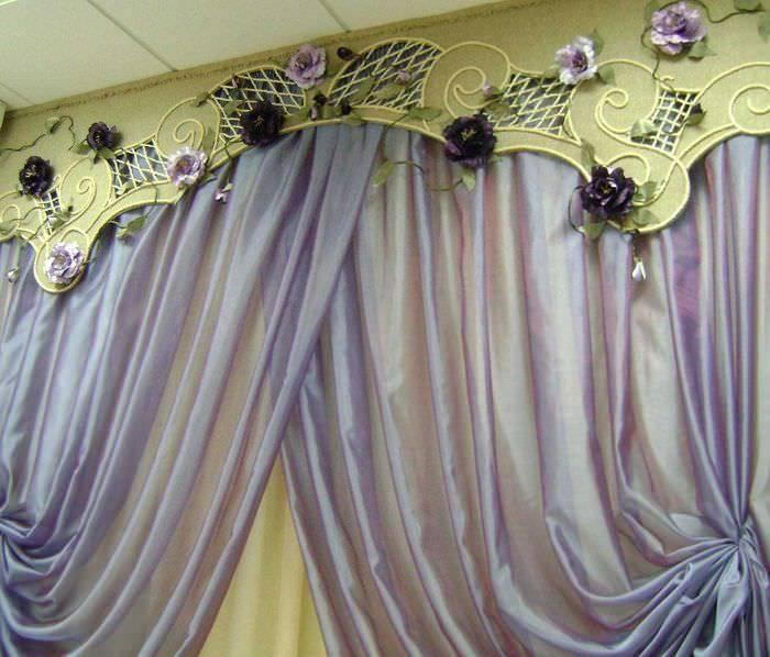 Декор штор: 95 фото идей современного применения декоративных элементов