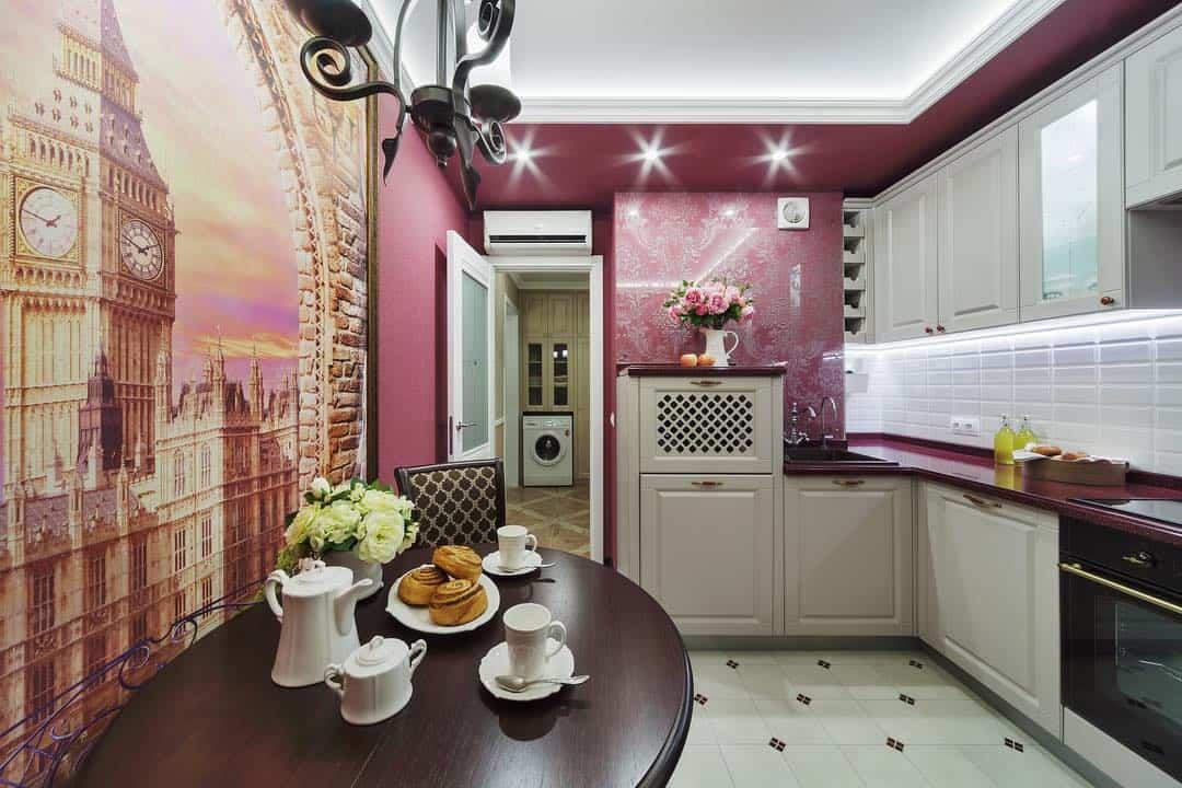 Дизайн кухни площадью 9 кв. м