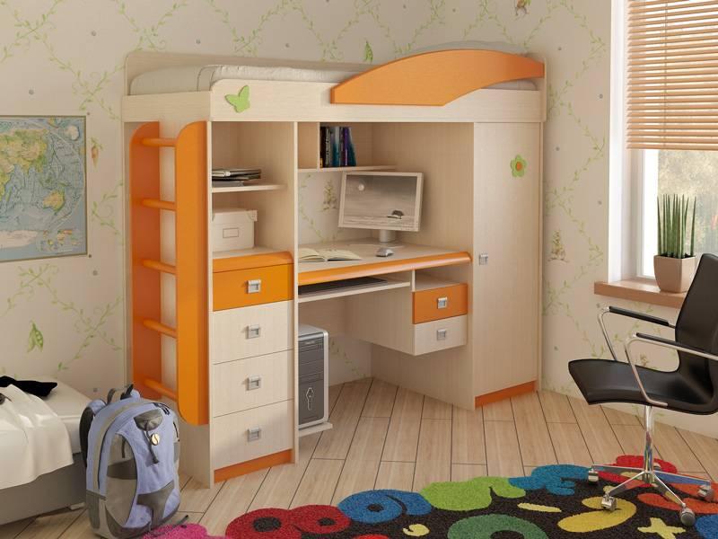 Кровать-чердак (96 фото): достоинства и недостатки, функциональность и современный дизайн