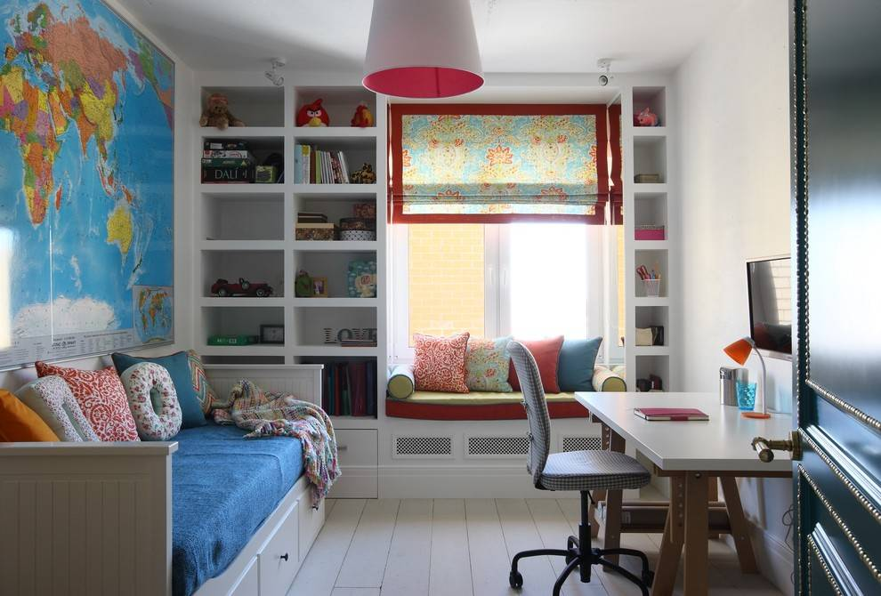 Детская 7 кв. м. — изумительный и современный дизайн (85 фото идей)