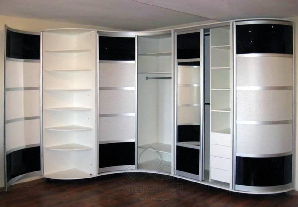 Угловой шкаф в спальню: фото дизайн (25 идей)