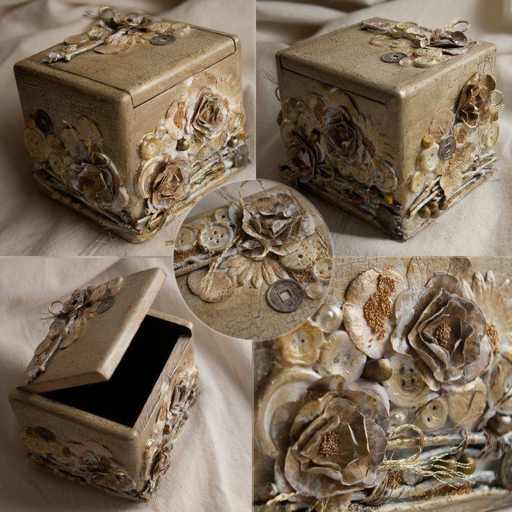 Украшение коробок: как украсить их своими руками красиво для хранения? декор картонной коробочки из-под обуви лентами и гофрированной бумагой