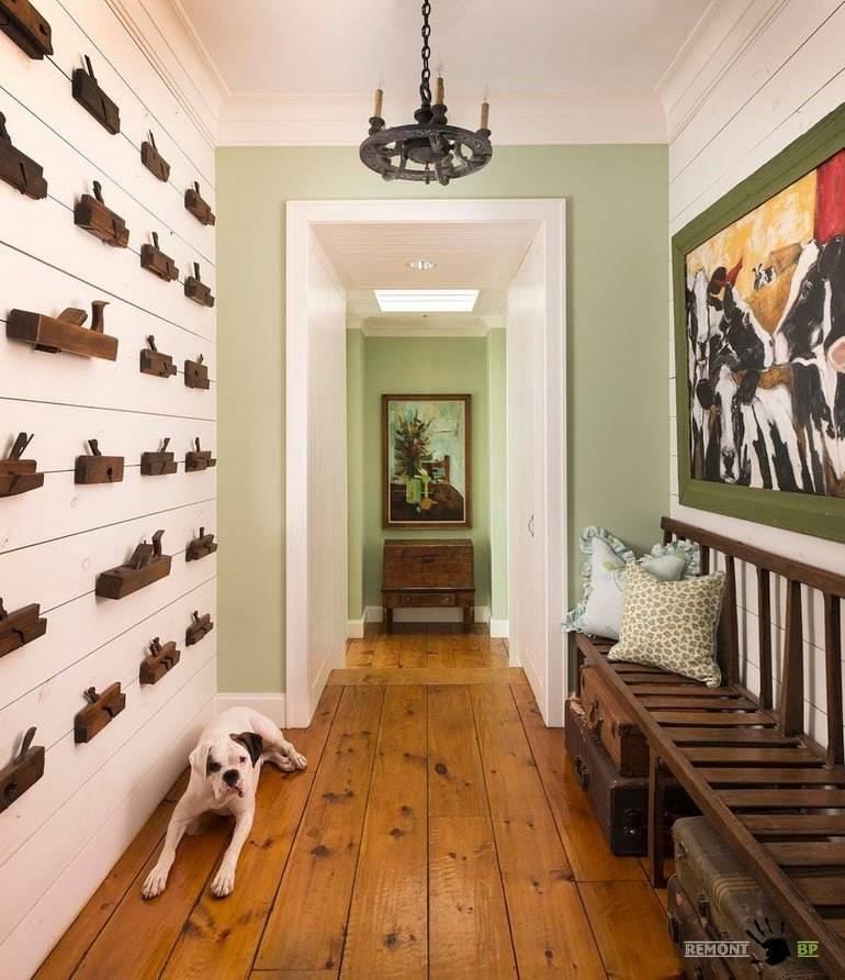 Отделка прихожей и коридора декоративным камнем: оформление интерьера, ремонт квартиры, дизайн, как отделать