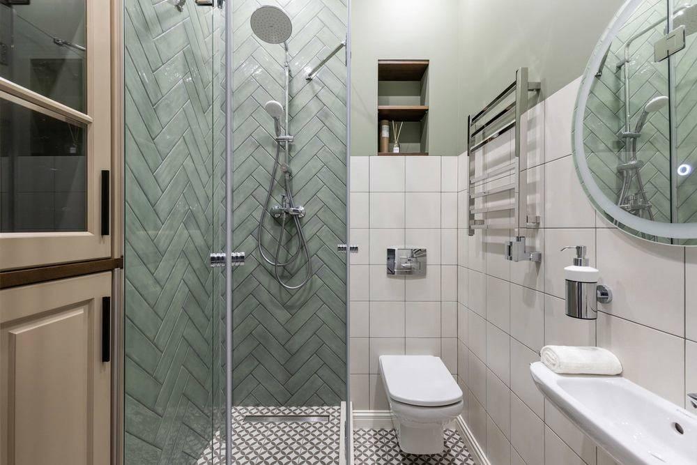 Примеры дизайна ванной комнаты с душевой кабиной и ванной