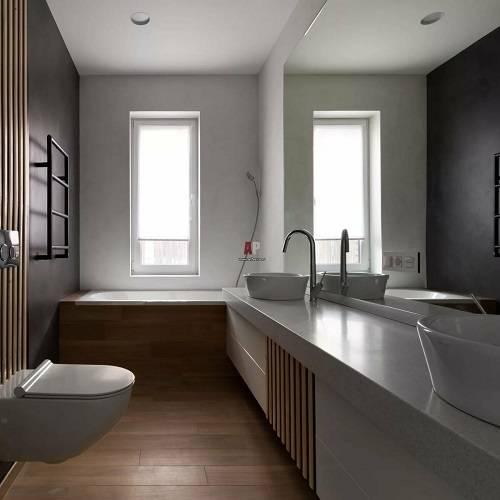Угловая ванная: типы, размеры, материалы ванны (48 идей дизайна)