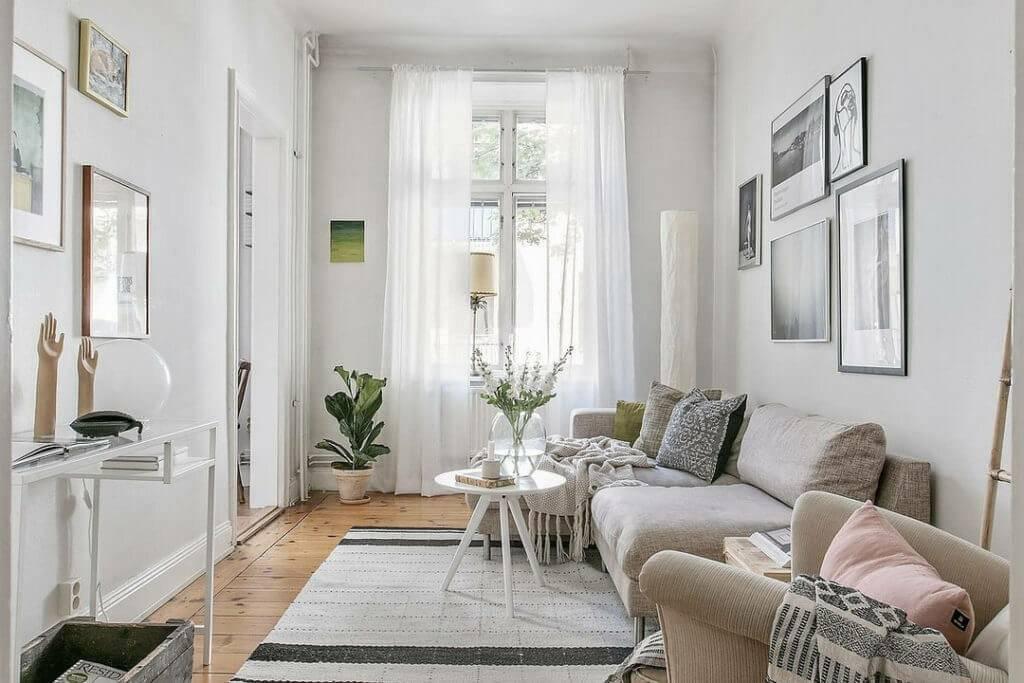 Оформление интерьера квартиры в скандинавском стиле