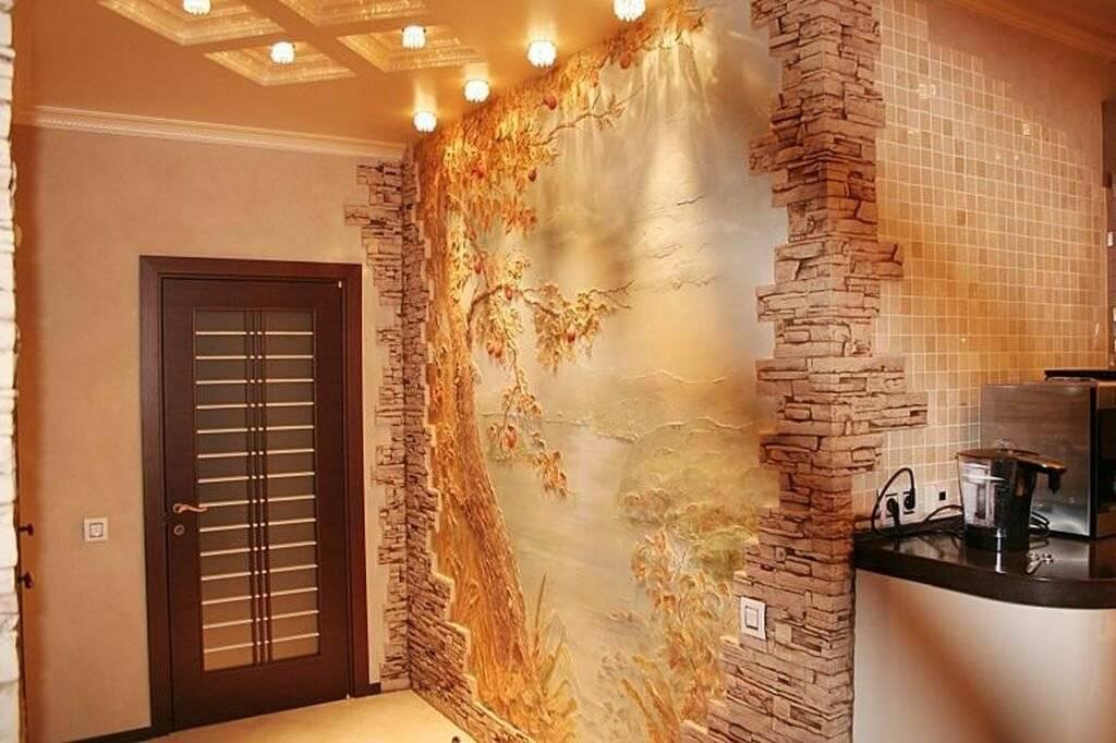 Интересные варианты декорирования и отделки коридора