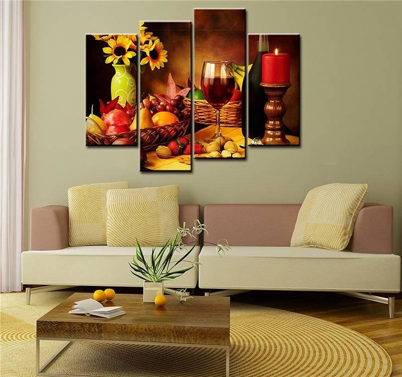 Картины для интерьера: лучшие идеи для оформления дизайна (124 фото)