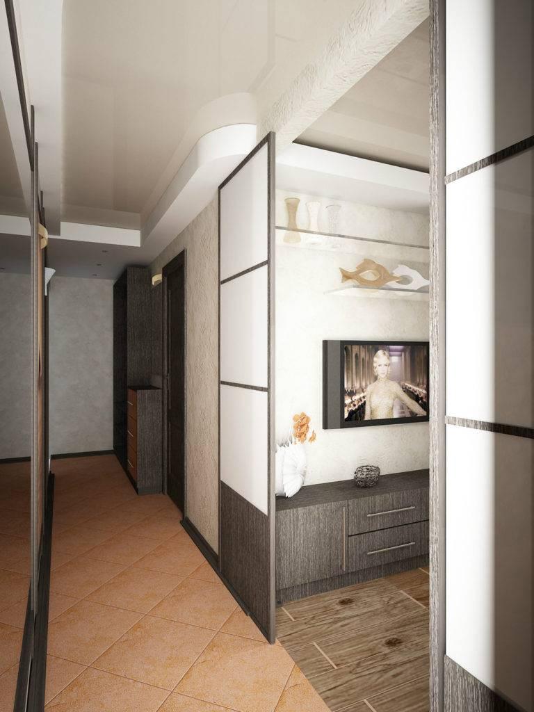 Планировка и интерьер трехкомнатной квартиры