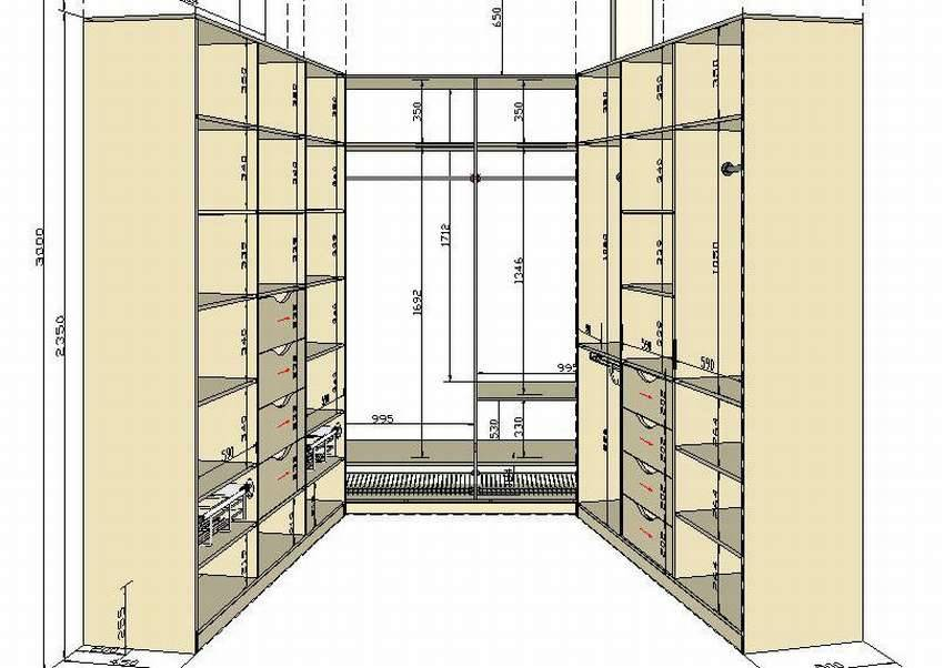 Гардеробная своими руками: как сделать в комнате в домашних условиях, чертежи и схемы, фото в маленькой квартире, дизайн-проекты в хрущевке.