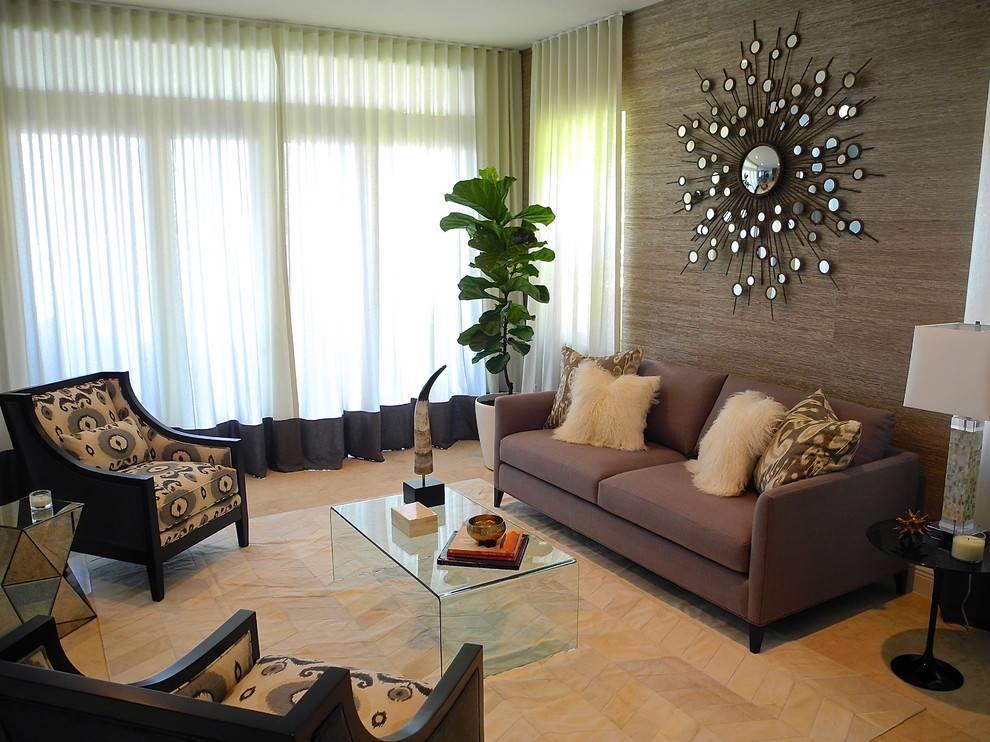 Дизайн стен в гостиной (87 фото): современные идеи отделки стенок, варианты окраски