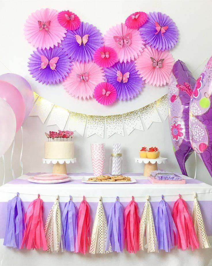 Интересные варианты оформления детского дня рождения