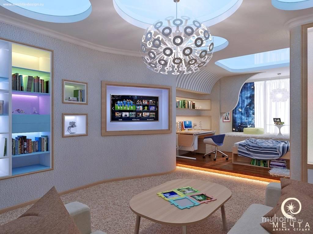 Вселенная в домашнем дизайне: особенности космического интерьера