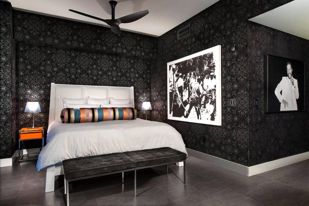 Интерьер в черно-белых тонах: примеры оформления стильных комнат (+59 фото)