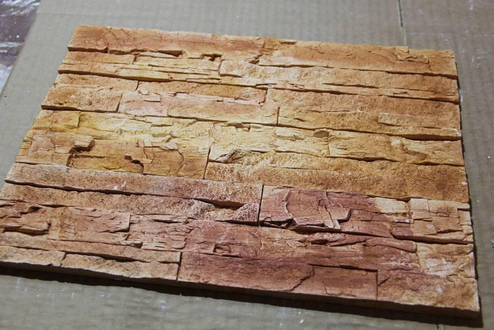 Декоративный камень из гипса – разновидности и сфера использования - 18 фото