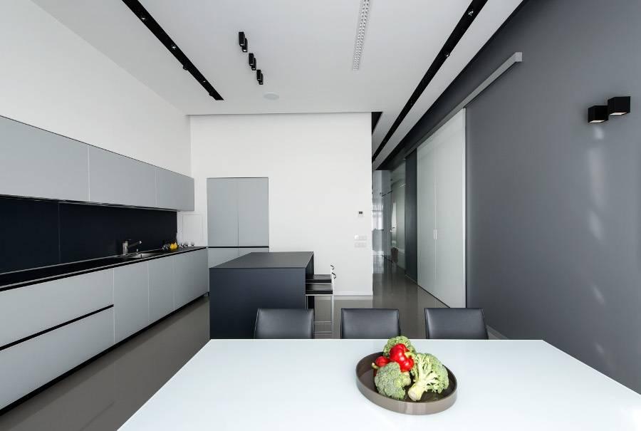 Кухни в стиле минимализм: главные признаки и правила оформления