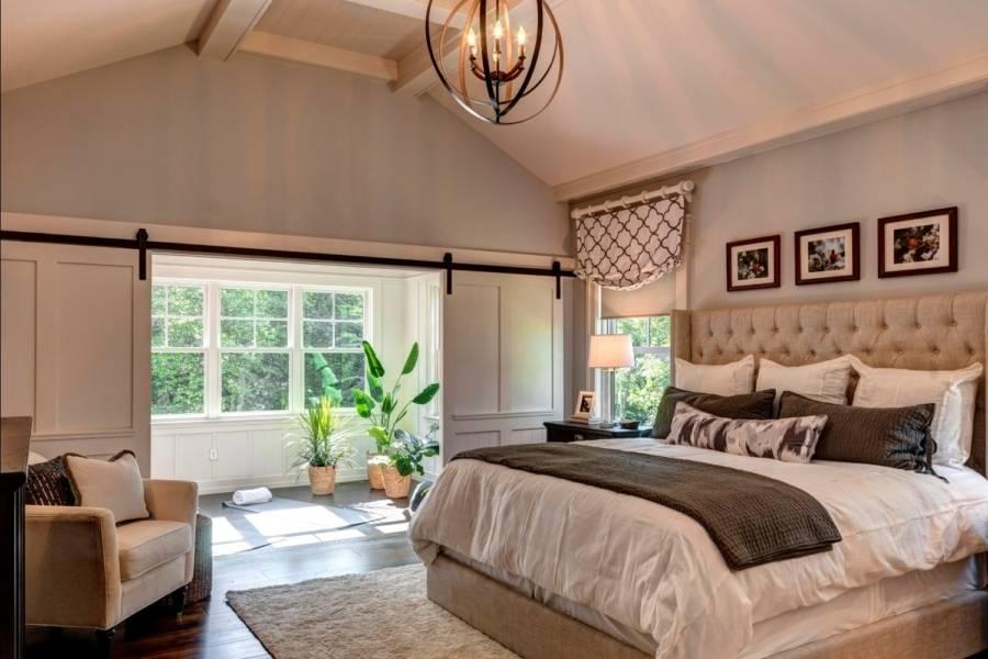 Спальня в частном доме: красивый и эксклюзивный дизайн (150 фото новинок)