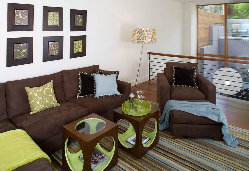 Коричневая мебель - идеи сочетаний и правила использования мебели коричневого цвета (160 фото)