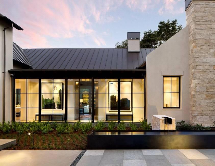 Красивые частные дома: 100 фото лучших примеров дизайна