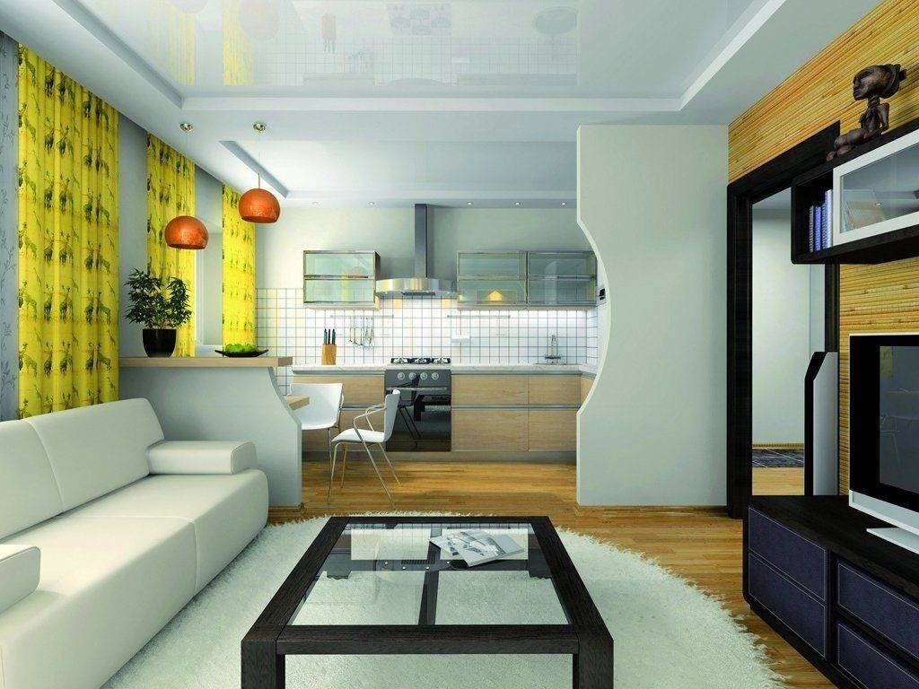 Дизайн спальни-гостиной на 20 кв м