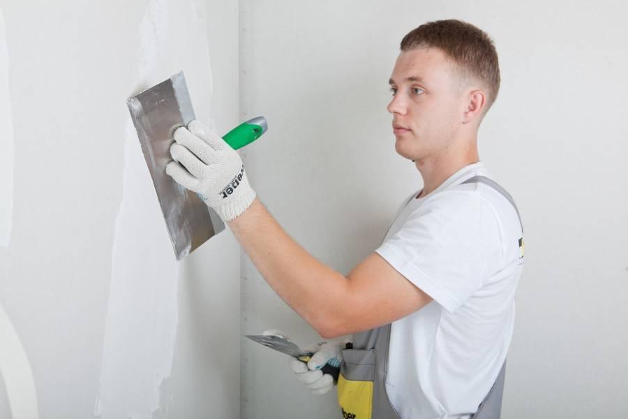 Технология финишной шпаклевки стен перед окрашиванием пошагово