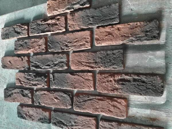 Тонкости покраски декоративного камня из гипса