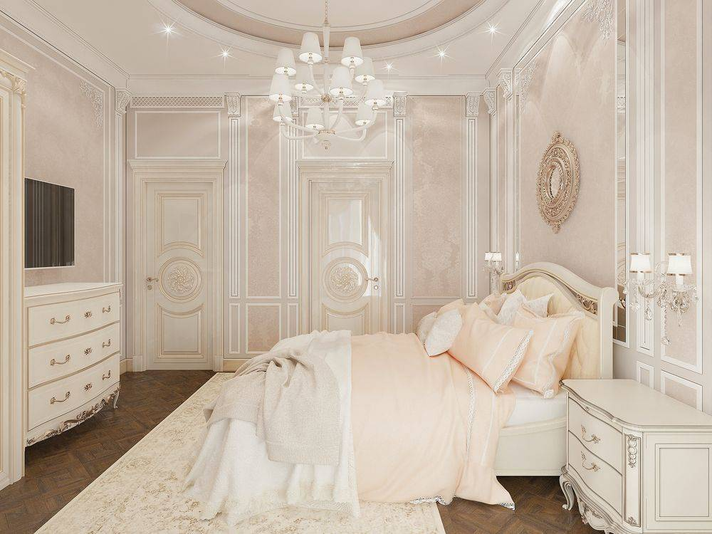 Классическая спальня: 100 фото-идей в интерьере, особенности дизайна