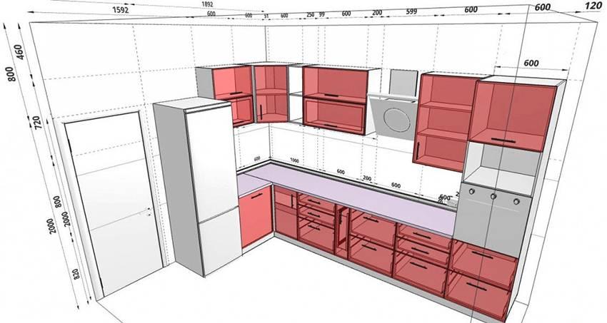 Дизайн маленькой кухни - 100 фото интерьеров, идеи для ремонта и отделки малогабаритной кухни