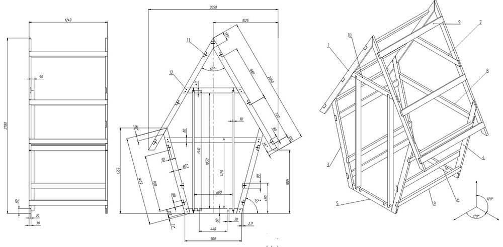 Туалет на даче своими руками - мастер класс от профессионала, пошаговая инструкция + 98 фото