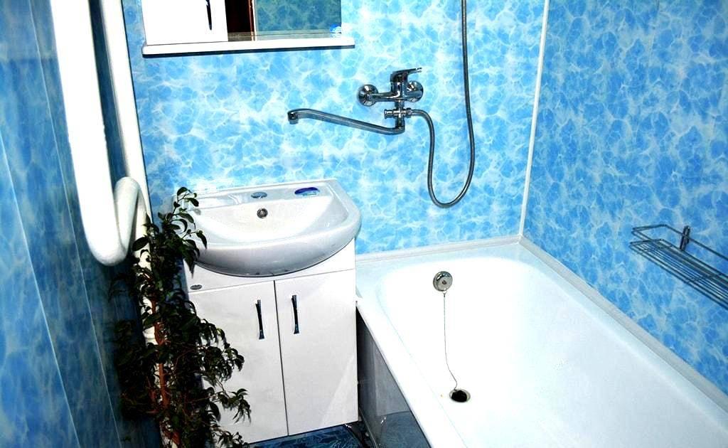 Отделка ванной комнаты пластиковыми панелями своими руками   советы специалистов