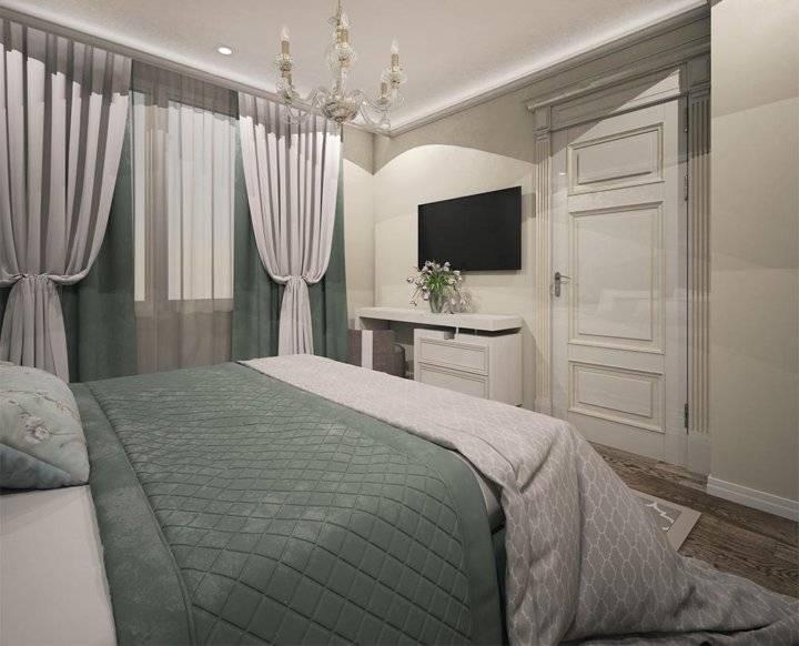 Современный дизайн интерьера комнаты площадью 12 кв м