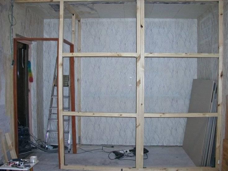 Как обшить стены гипсокартоном?
