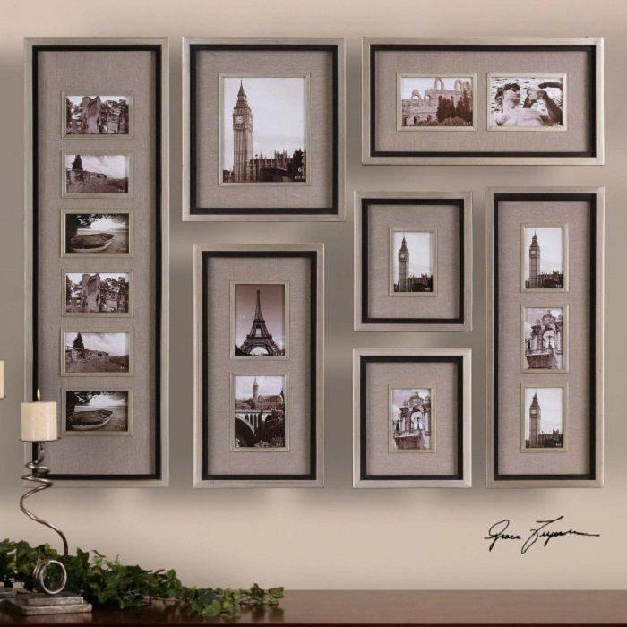 Рамка для фотообоев в интерьере - 26 фото