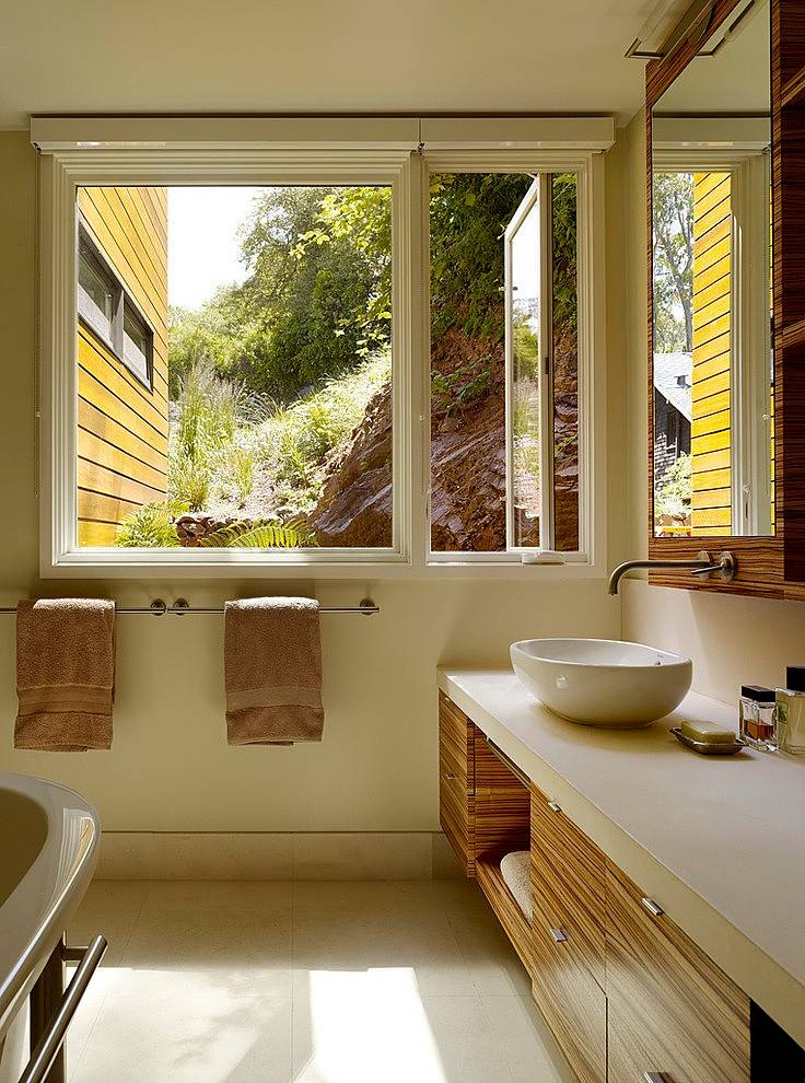 Большая ванная комната: идеи по оформлению комфортного интерьера (50 фото)   дизайн и интерьер ванной комнаты
