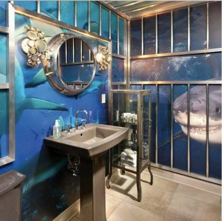 Идеи дизайна интерьера ванной комнаты