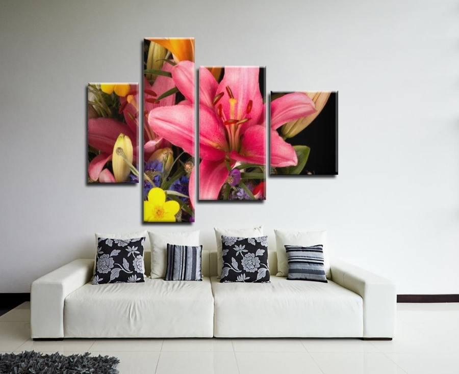Как правильно разместить в квартире картины на стене: какие бывают варианты расположения одной или композиции из картин разного размера?