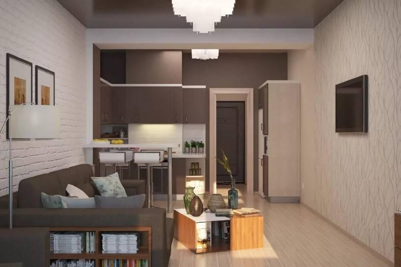Дизайн студии 23 кв