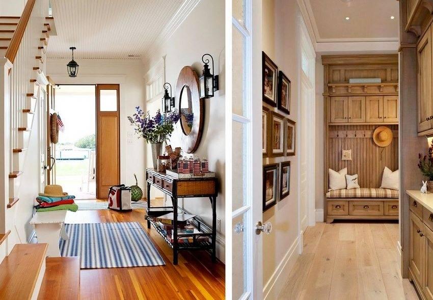 Дизайн прихожей в частном доме: как красиво обустроить и примеры интерьеров с фото