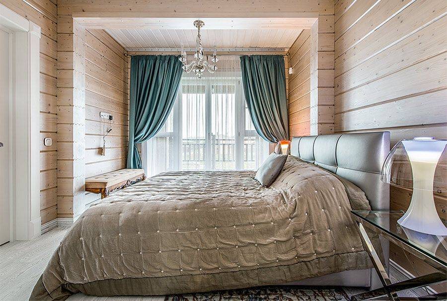Спальня в частном доме - правила разбивки на зоны. отделка стен, полов и потолка. выбор мебели и освещения для спальни в частном доме. дополнительный декор (фото + видео)