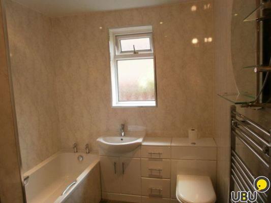 Дизайн ванной комнаты с пластиковыми панелями