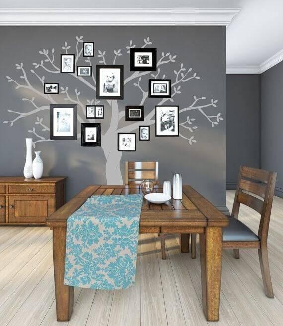 Декор стен на кухне: виды настенных украшений, дизайн в обеденной зоне, декор угла, акцентной стены