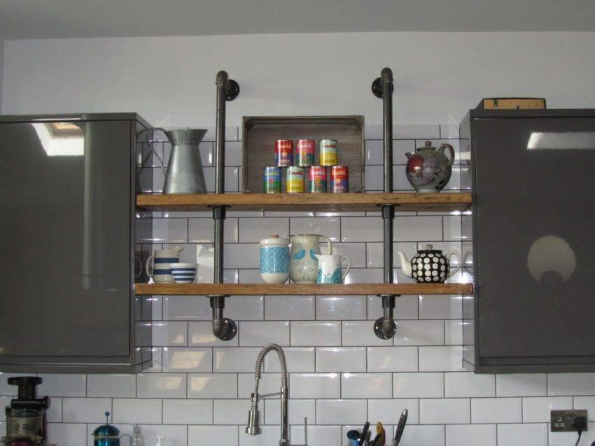 Способы декорирования газовой трубы на кухне