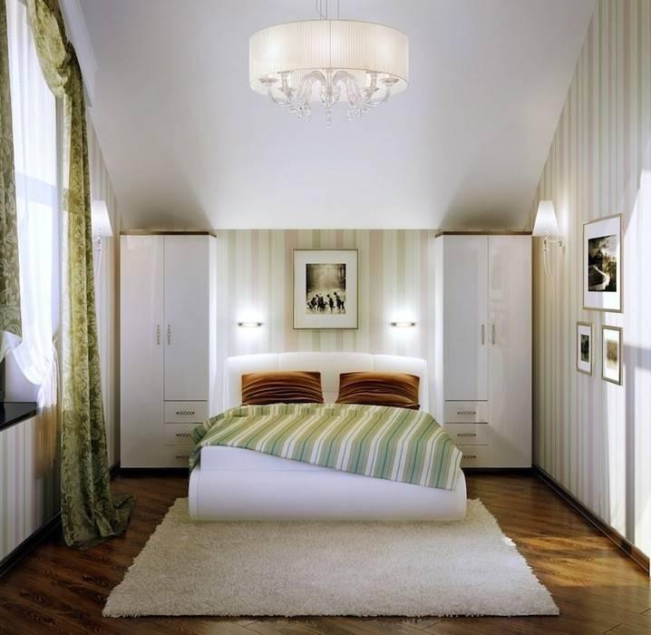 Дизайн спальни 12 кв. м: оптимальные решения для малогабаритных квартир
