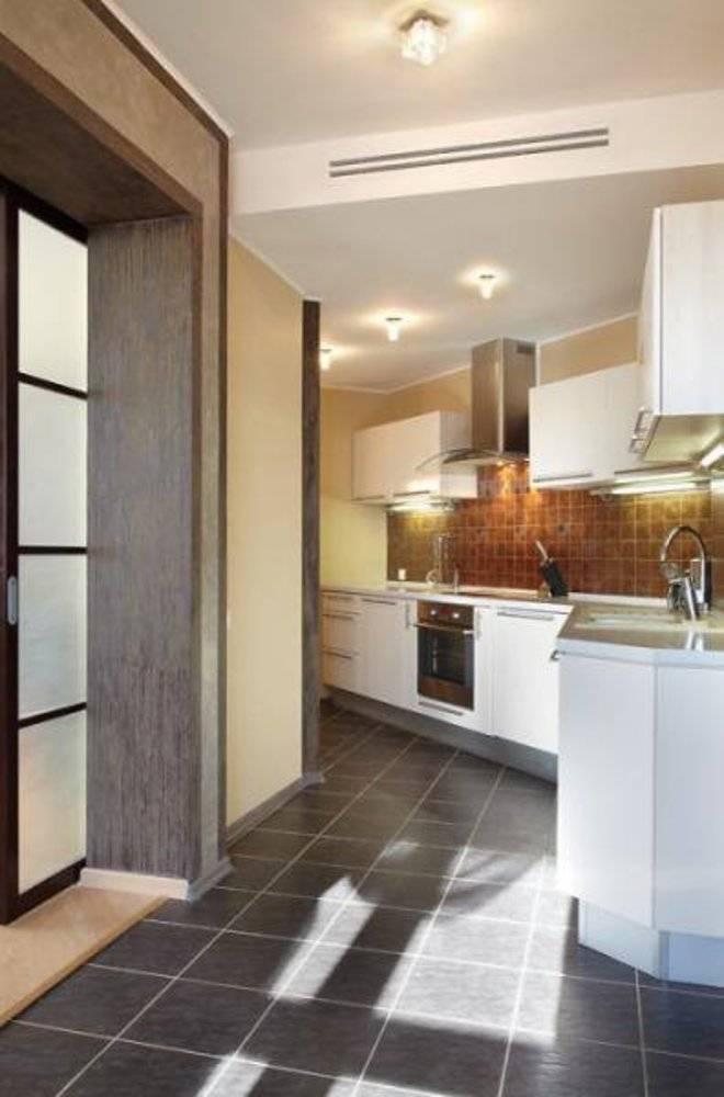 Как правильно выполнить совмещение кухни с прихожей: советы дизайнеров
