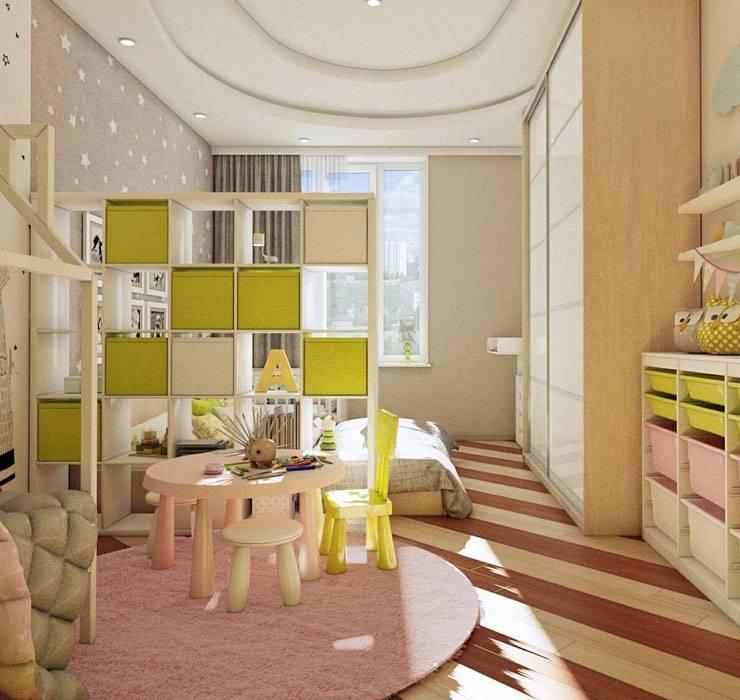 Спальня и детская в одной комнате: 42 фото, идеи зонирования