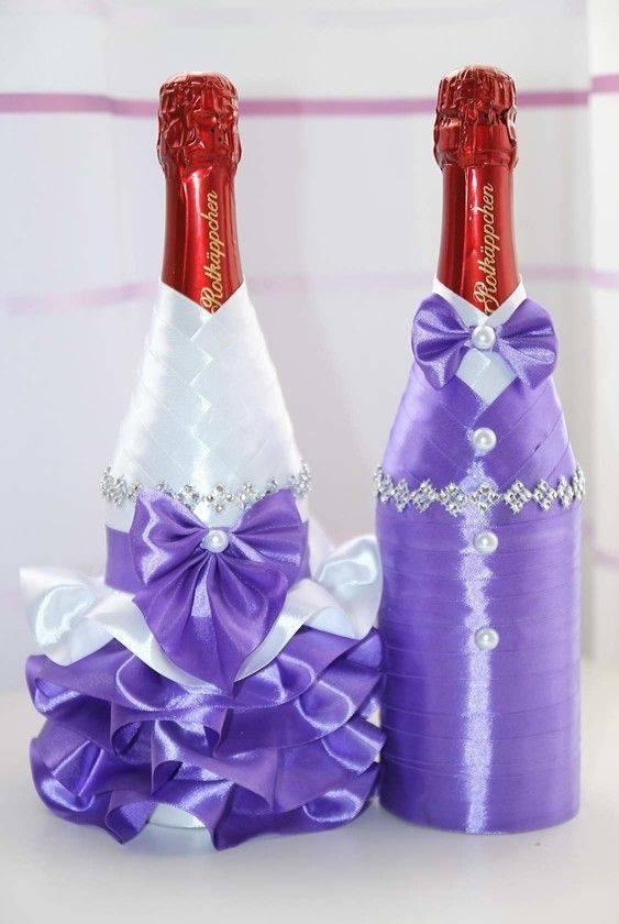 Декор бутылок: оригинальные идеи декора и обзор основных техник украшения бутылок (75 фото)